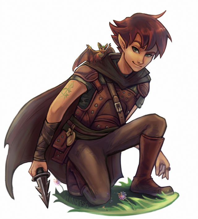 ART] Theron, Arcane Trickster Forest Gnome : DnD | D&D in