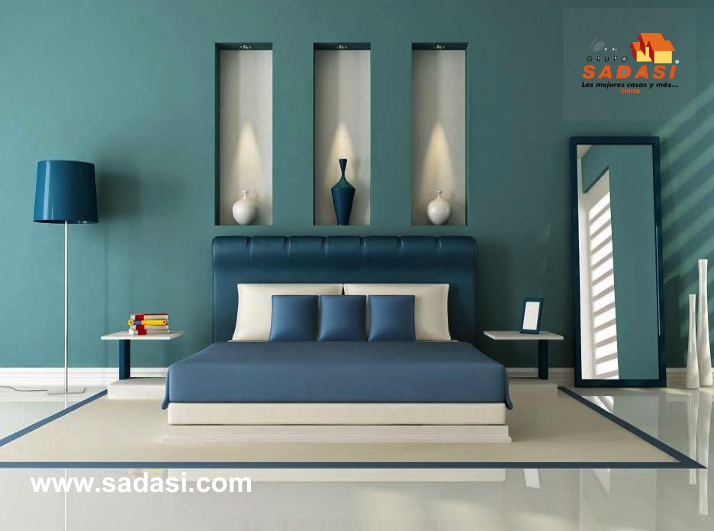 #lasmejorescasasdemexico LAS MEJORES CASAS DE MÉXICO. El color azul siempre ha estado relacionado con la relajación y serenidad, es un color que evoca sensaciones de calma; principalmente se utiliza en dormitorios y espacios donde se busque tranquilidad. El tono de azul que es elegante por excelencia es el azul pizarra. Al adquirir su casa en nuestro exclusivo desarrollo en Puebla BOSQUES DE CHAPULTEPEC, usted estará realizando la mejor inversión. informes@sadasi.com
