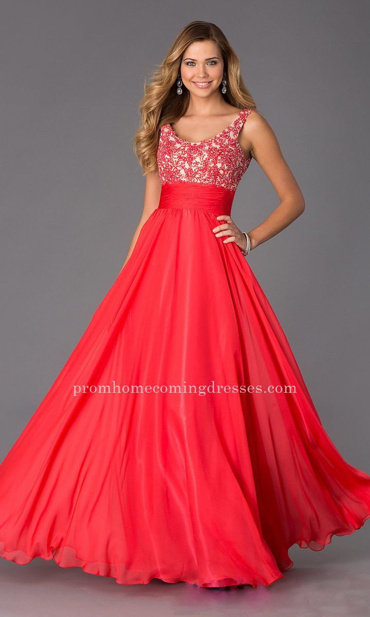 Alyce Paris 35689 Fuchsia Long Prom Flowing Gown | Long Red Dresses ...