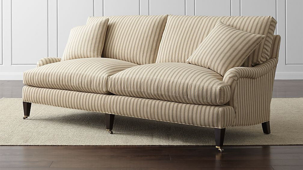Essex Sofa with Casters - Crate and Barrel