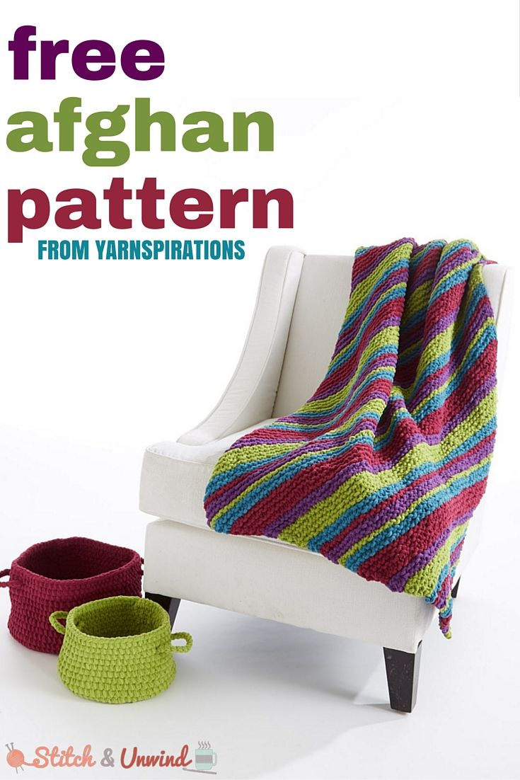 Free Pattern Friday: Sugarplum Cables Afghan from Yarnspirations ...