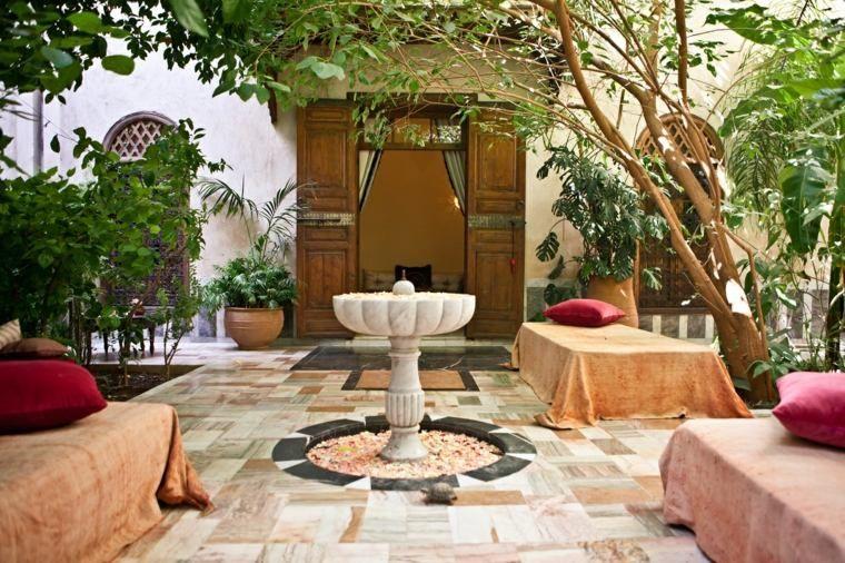 Style marocain : idées d\'aménagement extérieur en 30 images | Jardin ...