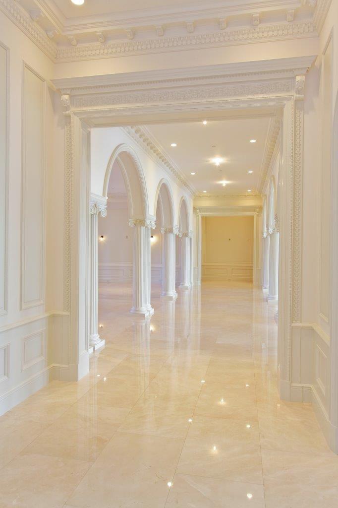 Palm Beach Residence | Marble house, Floor design, Marble floor