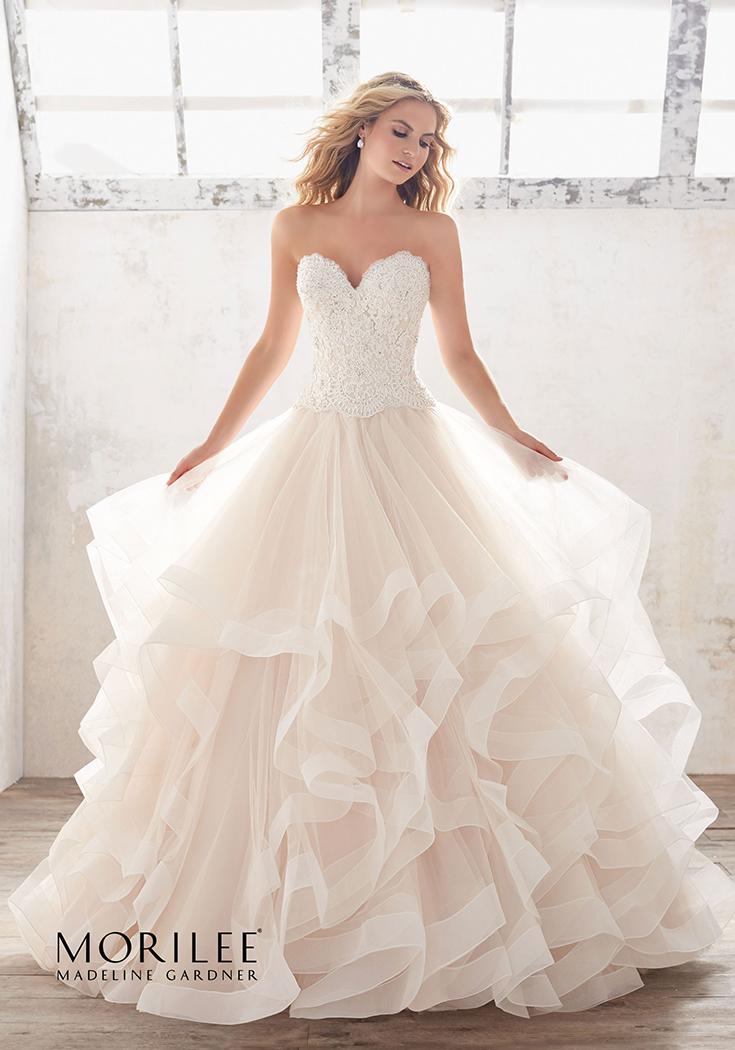 Marcia Wedding Dress | Morilee | Abiti da sposa, Vestiti da