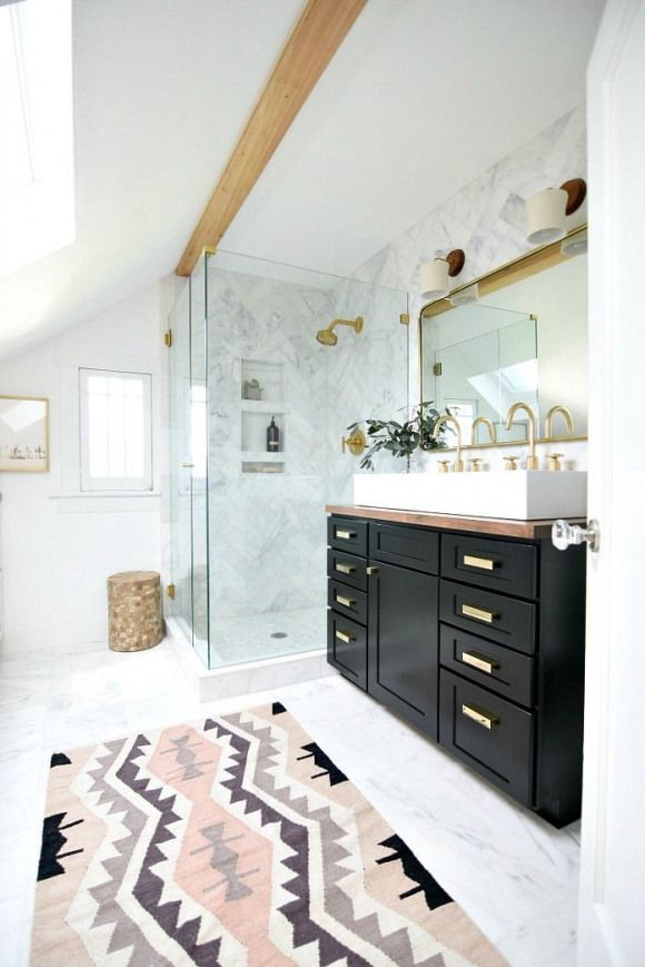 Photo of Friday Favorites- Bathroom Remodel- Marble Shower #bathroomfixtures #vintage #ba…