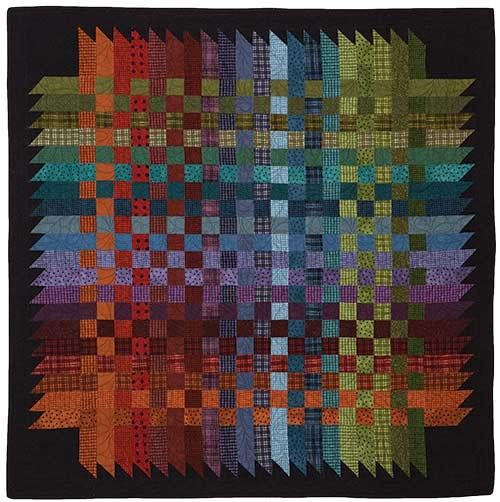 Over And Down Under Quilt Pattern By Bonnie Sullivan