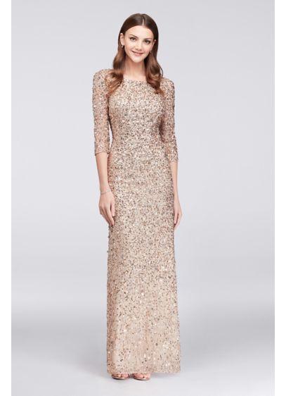 024669273e5 Long Sheath 3 4 Sleeves Formal Dresses Dress - Adrianna Papell ...