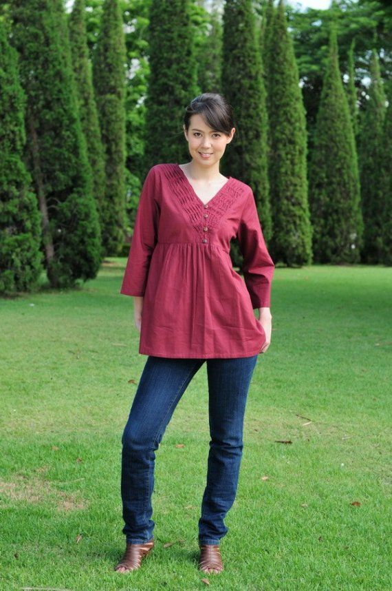 FREE SHIPPINGM125Sweet time Blouse by giftbywish on Etsy, $30.00