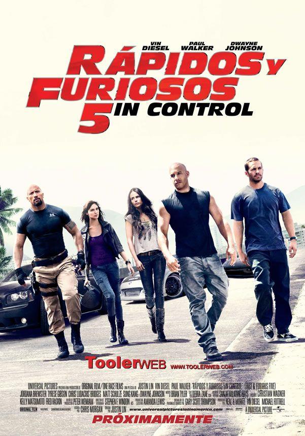 Ver Online Rápido Y Furioso 5 Gratis Español Latino Fast And Furious Fast Five Furious Movie
