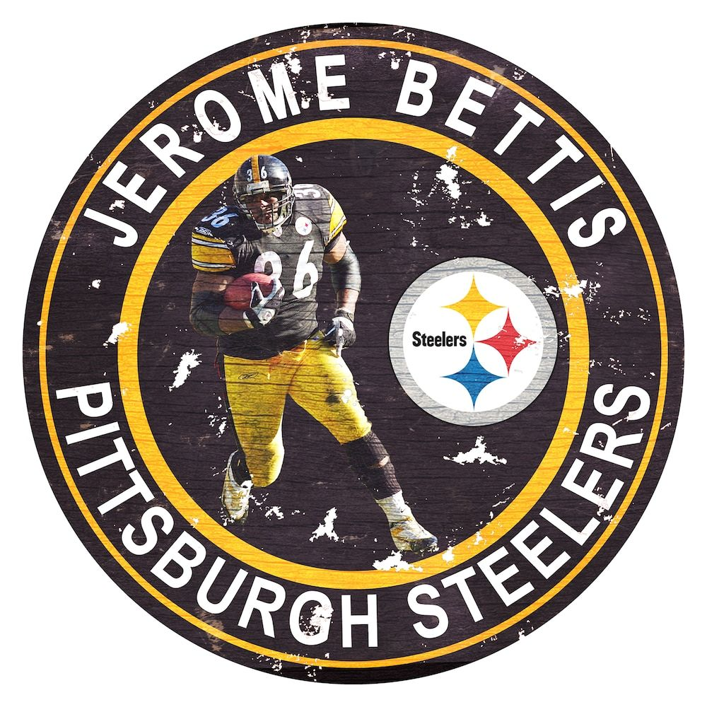 Pittsburgh Steelers Jerome Bettis Wall Decor Pittsburgh