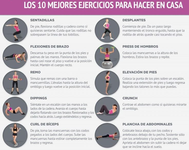 rutina de ejercicios basicos para bajar de peso
