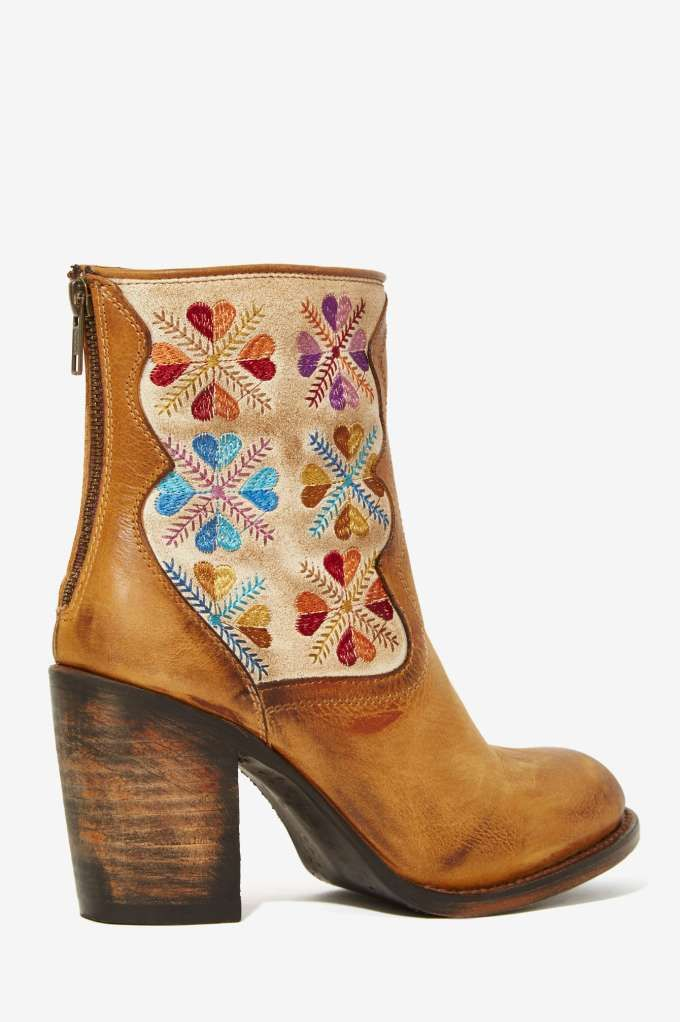 Freebird Hendrix Leather Tapestry Boot - Shoes