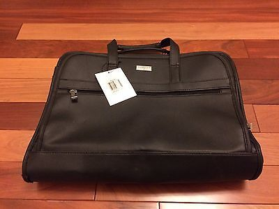 """New u.s. #luggage new york laptop accessory #black leather #travel file bag 17""""x1,  View more on the LINK: http://www.zeppy.io/product/gb/2/181901594736/"""