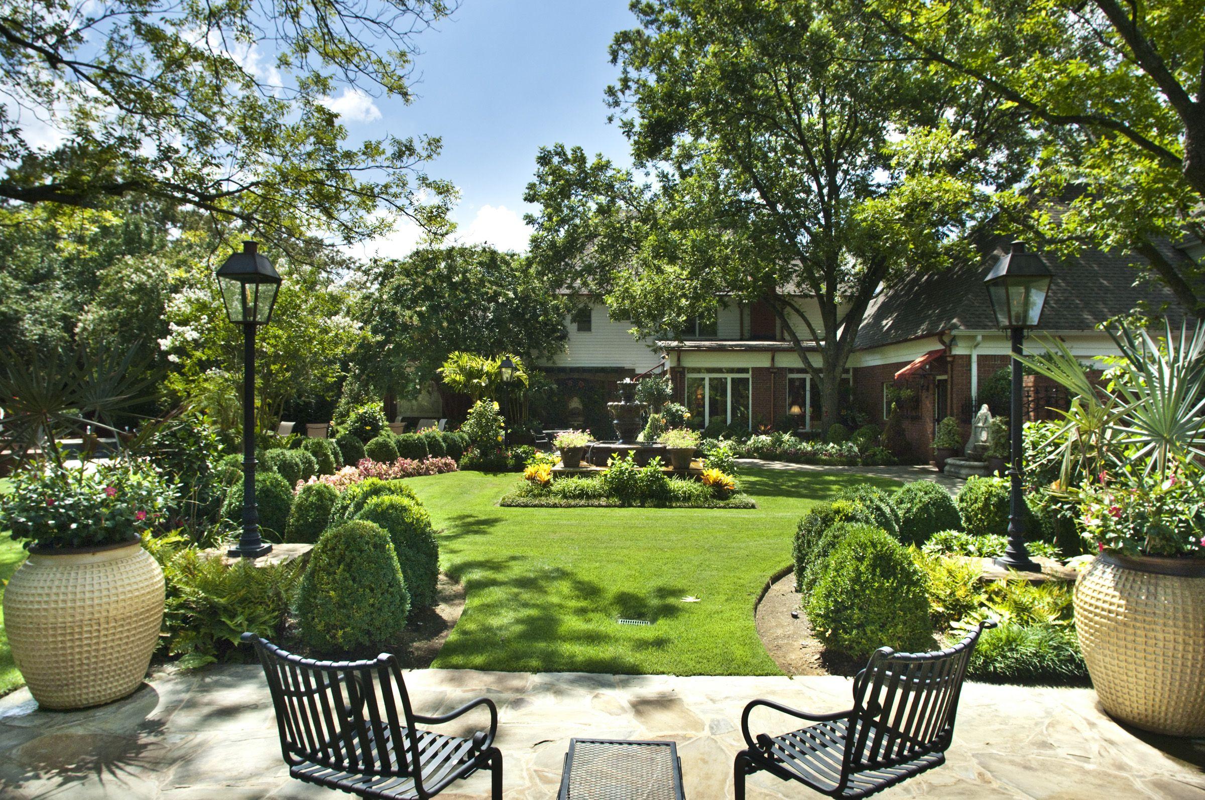 Nice Backyard Landscape By Gurleyu0027s Azalea Garden, Inc.  Memphis, TN,  Ww.gurleysmemphis.com