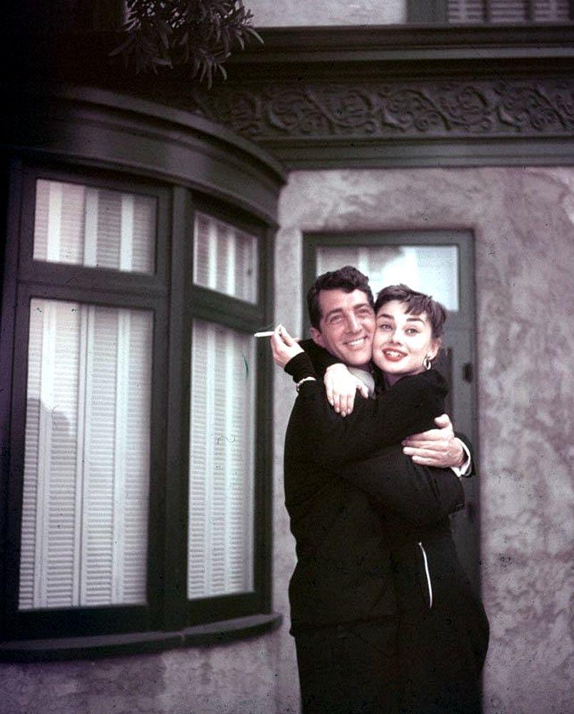 Rock Hudson And Audrey Hepburn