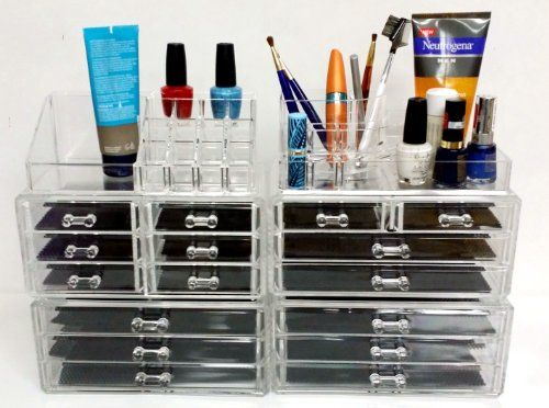 Acrylic Makeup Cosmetic Jewelry Organizer Great Creative