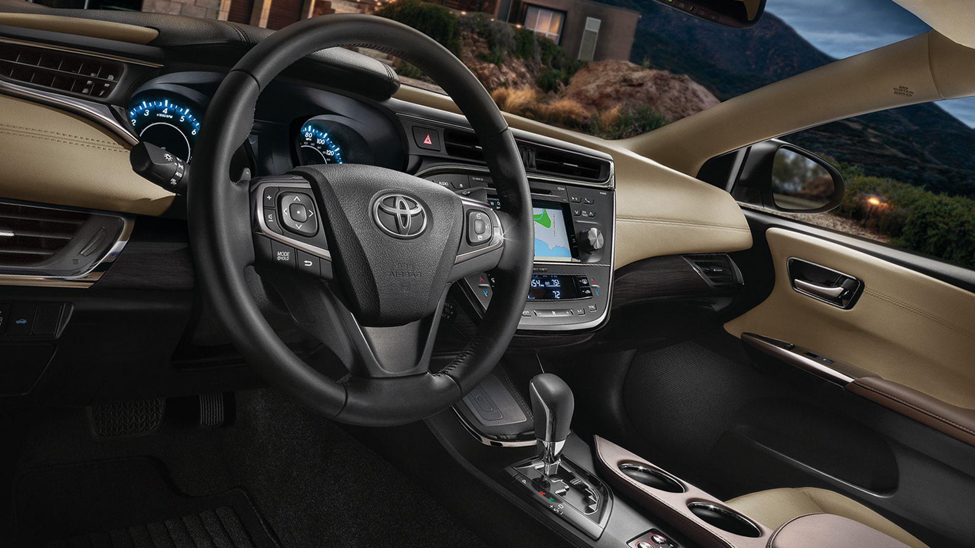 New 2019 Toyota Avalon Hybrid Interior Design