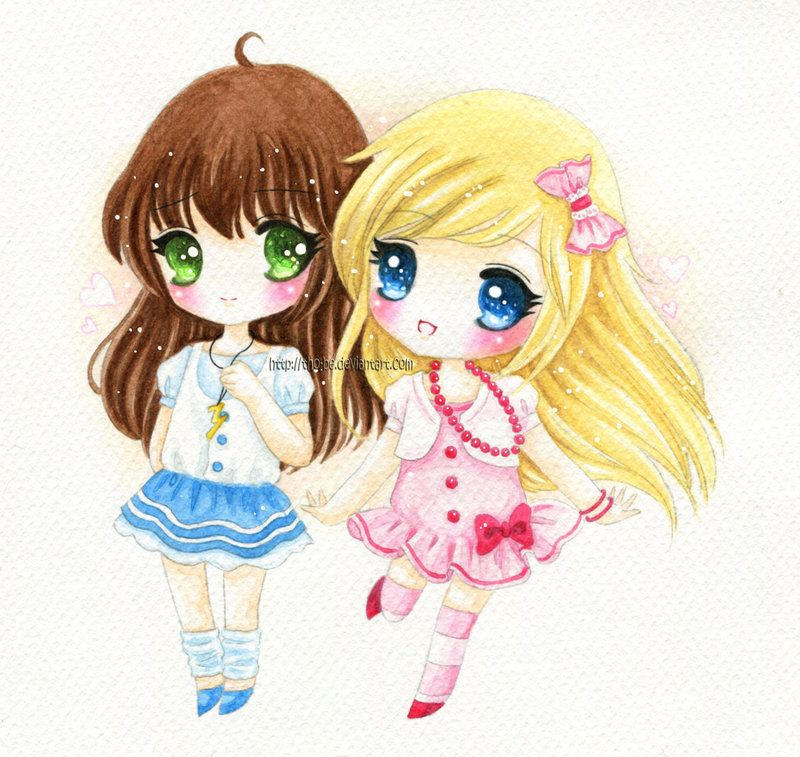C Best Friends Forever Anime Best Friends Best Friend Pictures Anime