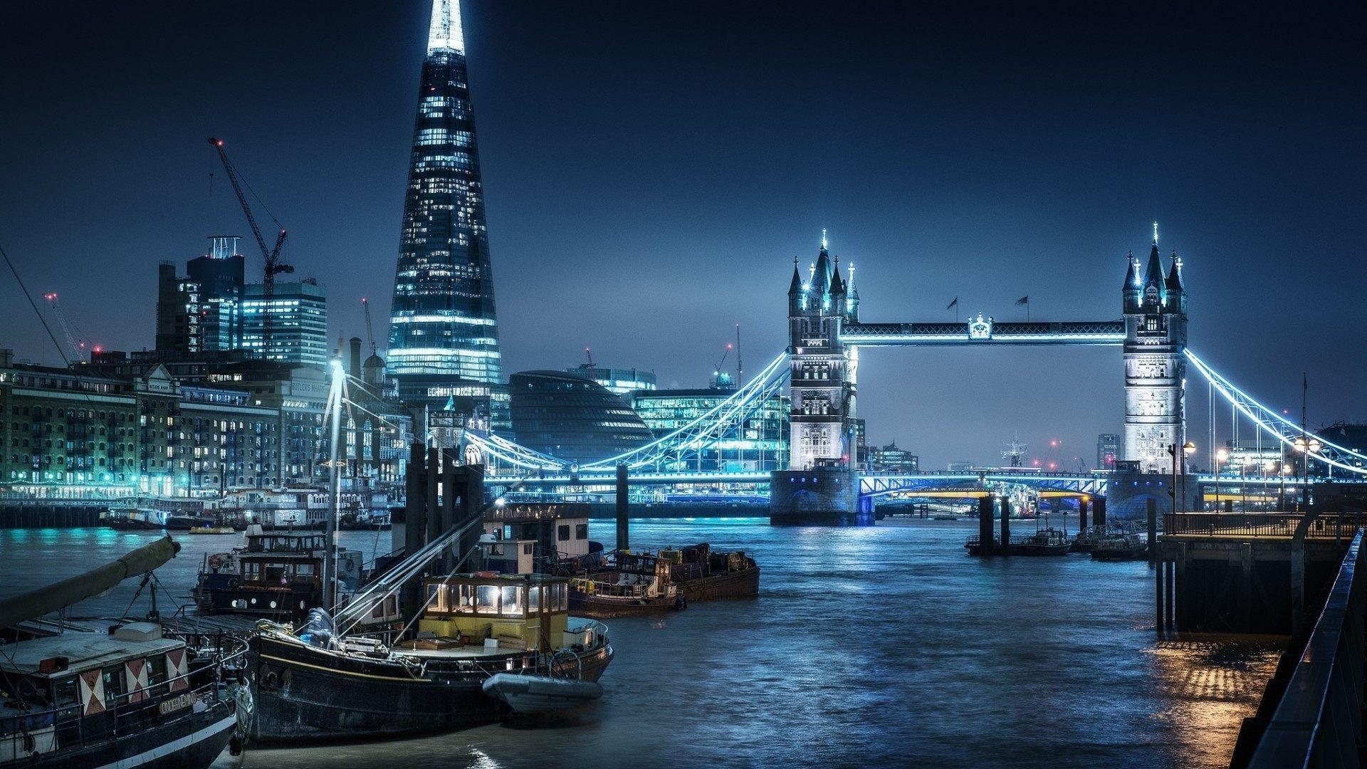 Обои ночь, london. Города foto 12