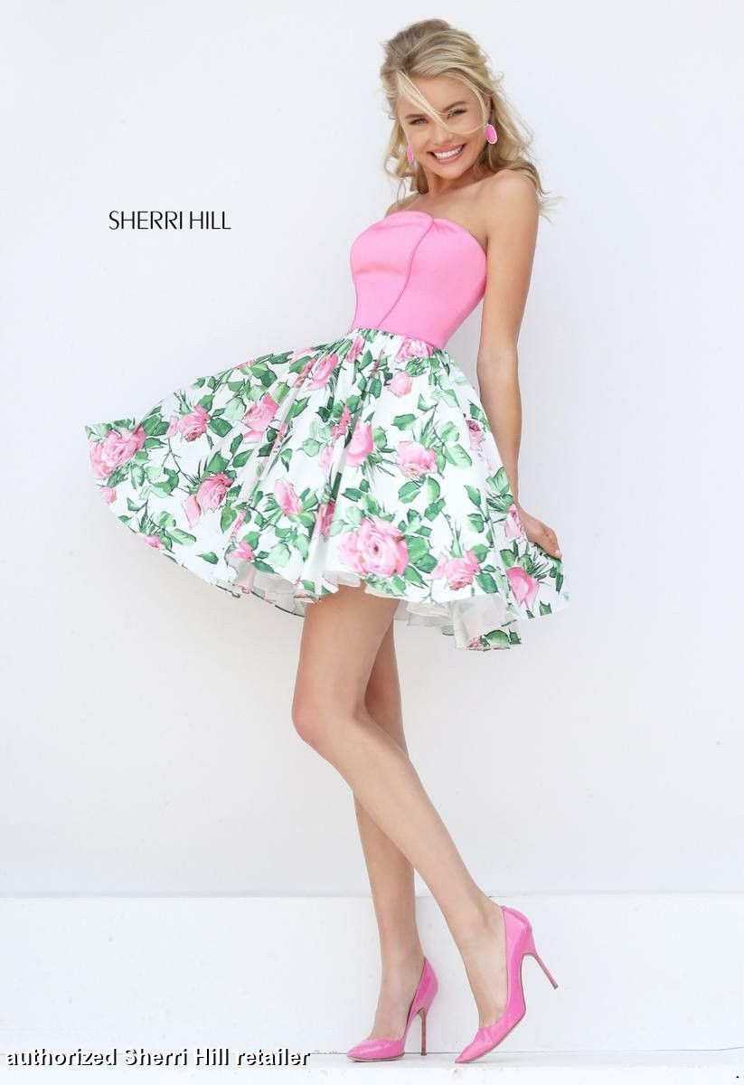 Sherri hill pageant appearance wear pinterest pageants