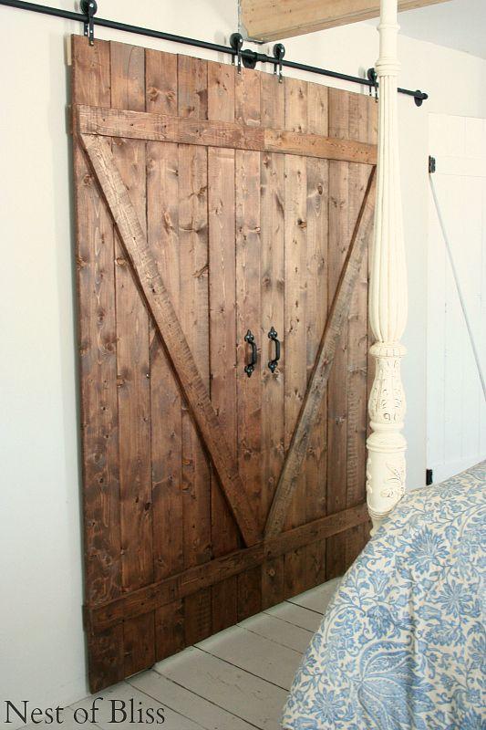 DIY Sliding Doors barn doors Pinterest Modelos de puertas