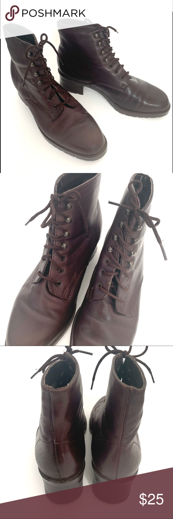White Mountain vintage 90s lace up