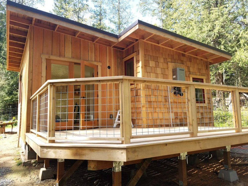 Cascadia Homesteads Builds Small Cabins on Orcas Island ... on Cascadia Outdoor Living Spaces id=84815