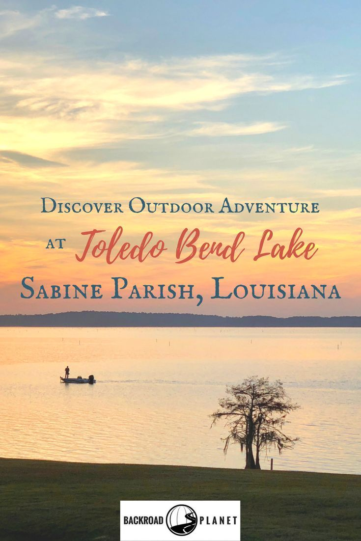 Toledo Bend Lake in Sabine Parish, Louisiana, is a top destination, not just for watersports, but also golf, hiking, scenic drives, and other outdoor adventure. #travel #TBIN #OnlyLouisiana #lakelife via @backroadplanet