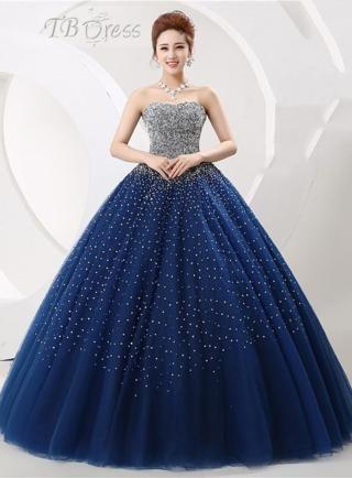 f25b306ea vestido de 15 años azul (6)