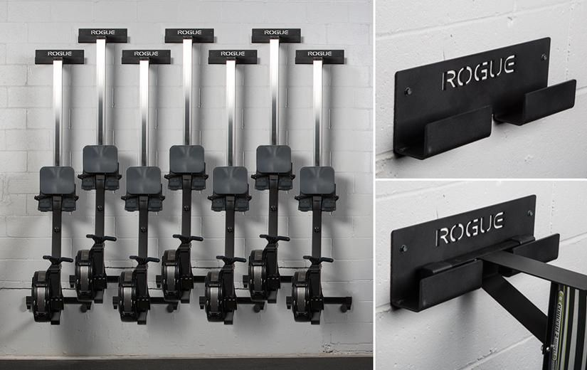 The rogue rower hanger is a new storage option that will help gym