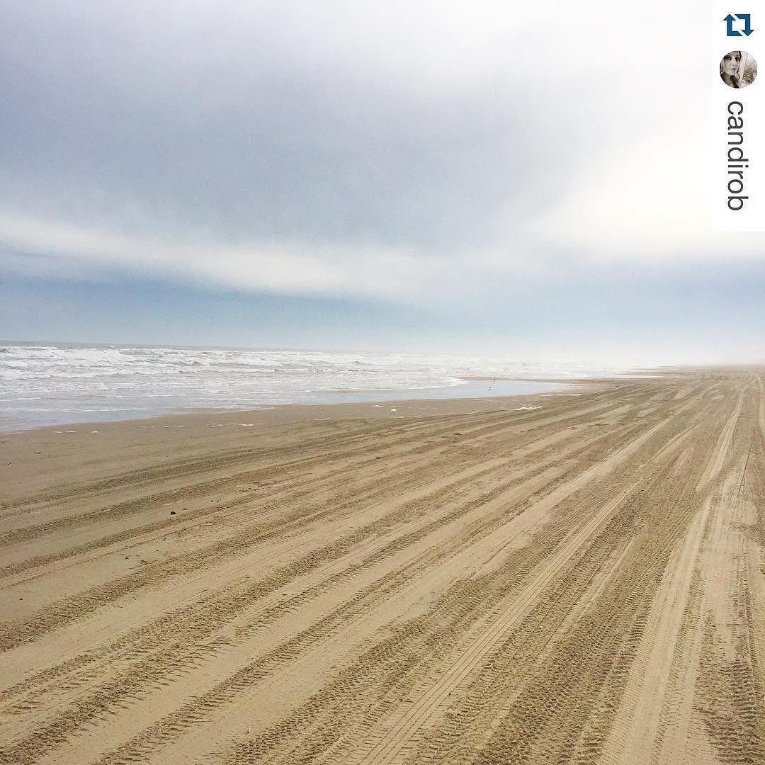 "Mustang Island Beach: Port Aransas, Texas On Instagram: ""Quiet, Peaceful, And"