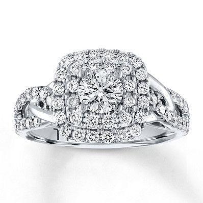 29e3de8a4 Leo Diamond Engagement Ring 1 Carat tw 14K White Gold Leo Diamond, Kay  Jewelers,