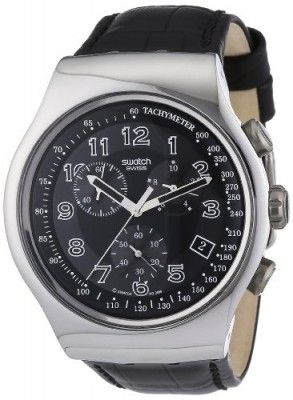 40ed2fc335e Relógio Swatch Irony Chrono Your Turn Black Mens Watch YOS440  Relogio   Swatch