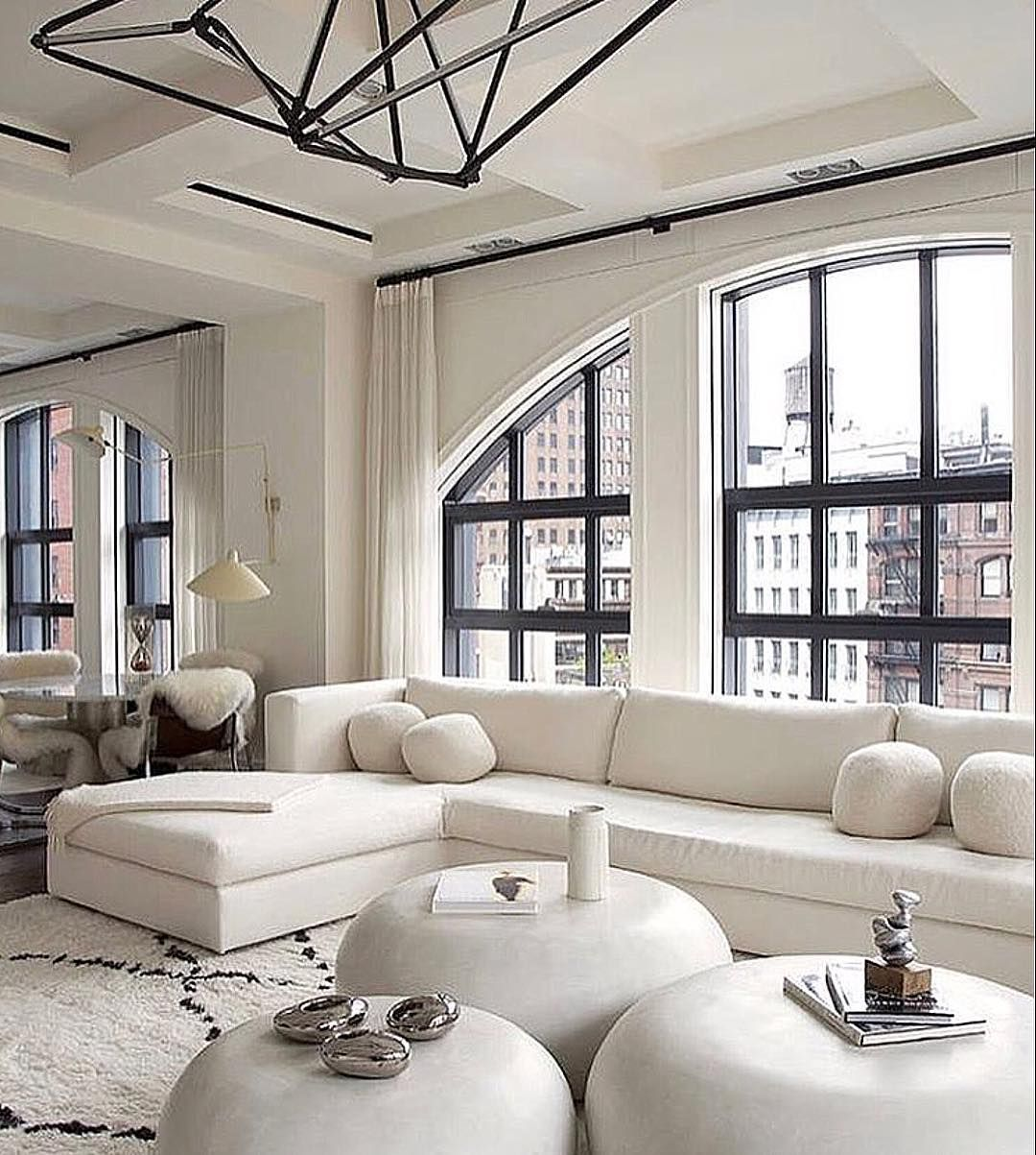 White living space by julie hillman also interior design pinterest rh