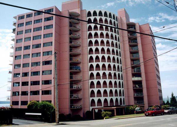 15 Sublime Pink Buildings | Building, West vancouver ...