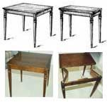 folding card table plans woodworking