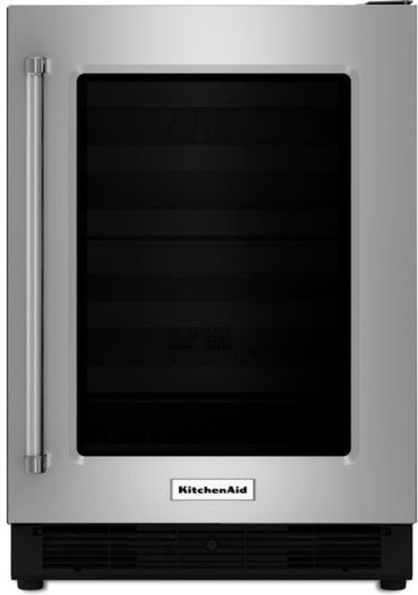 Kitchenaid Kurr204esb Undercounter Refrigerator Stainless Steel Fridge Kitchen Aid