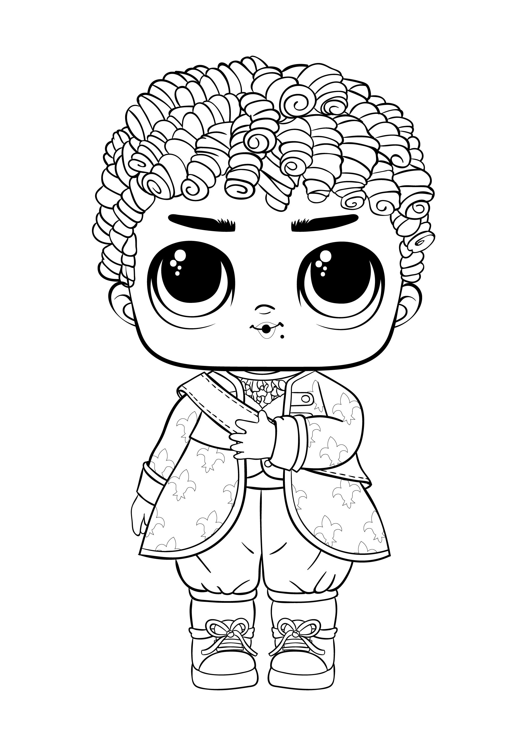 Lol Hair Goal Lol Coloring Pages