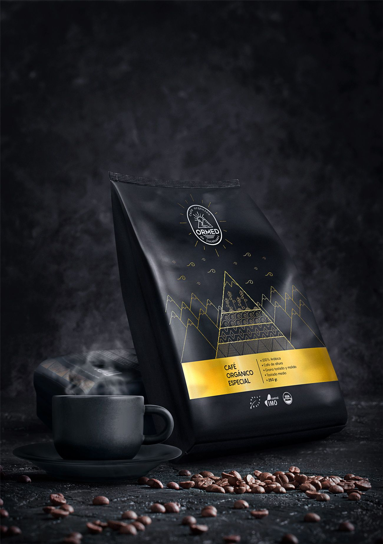 CHAMAN Agency ORMED Premium organic coffee World
