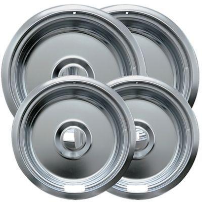 Range Kleen 4 Piece Round Drip Pan In