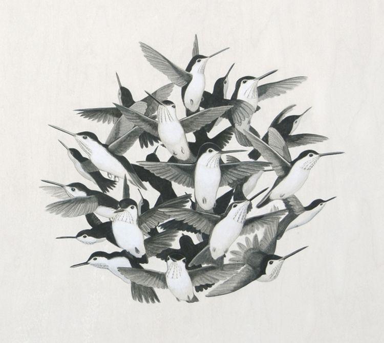 Humming Bird Tattoo | Tiffany Bozic