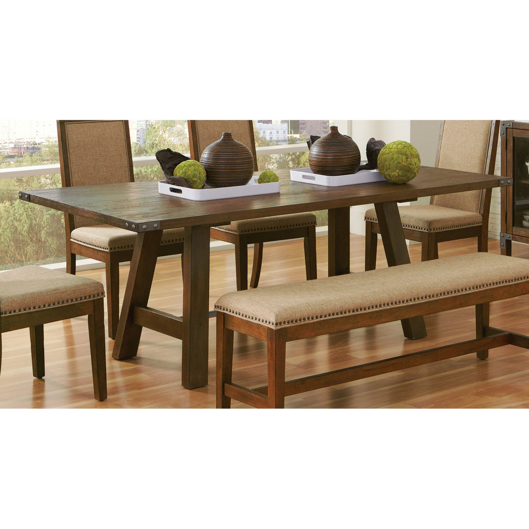 Excellent Coaster Furniture Arcadia Dining Table 105681 Products Ncnpc Chair Design For Home Ncnpcorg