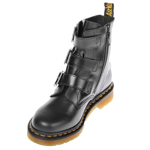 dr martens blake 3 strap buckle boot