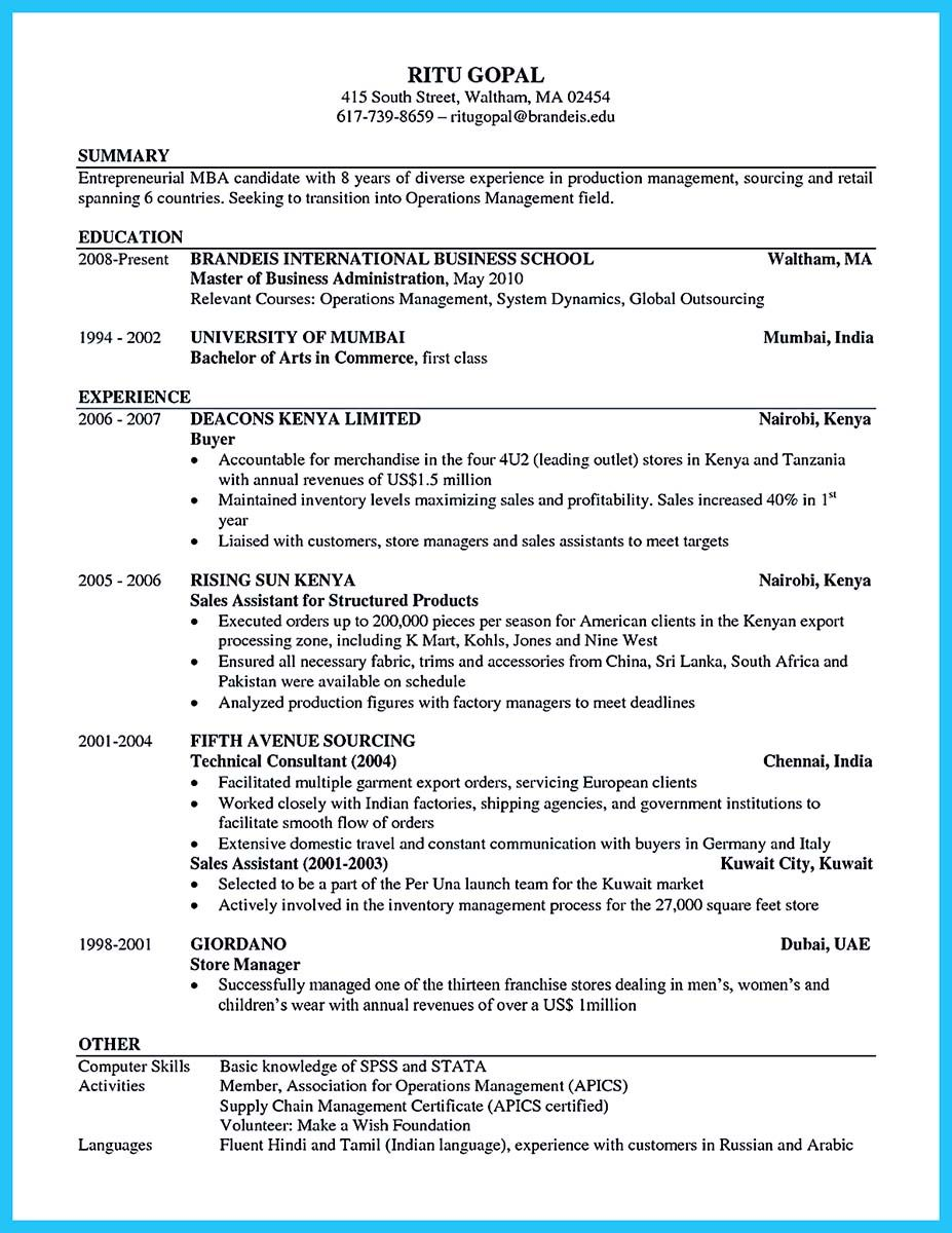 Nice Special Guides For Those Really Desire Best Business School Resume In 2020 Business Resume Template Business Resume Business Letter Sample