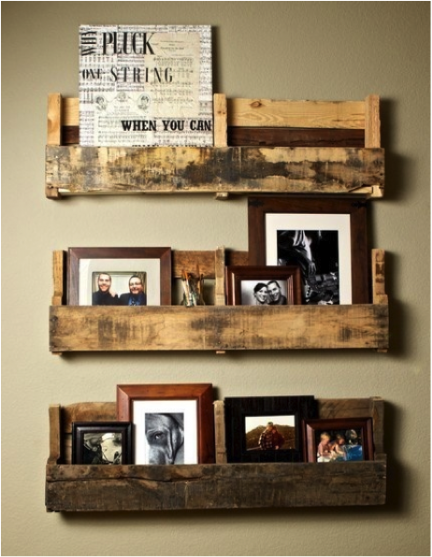 pallet book shelves