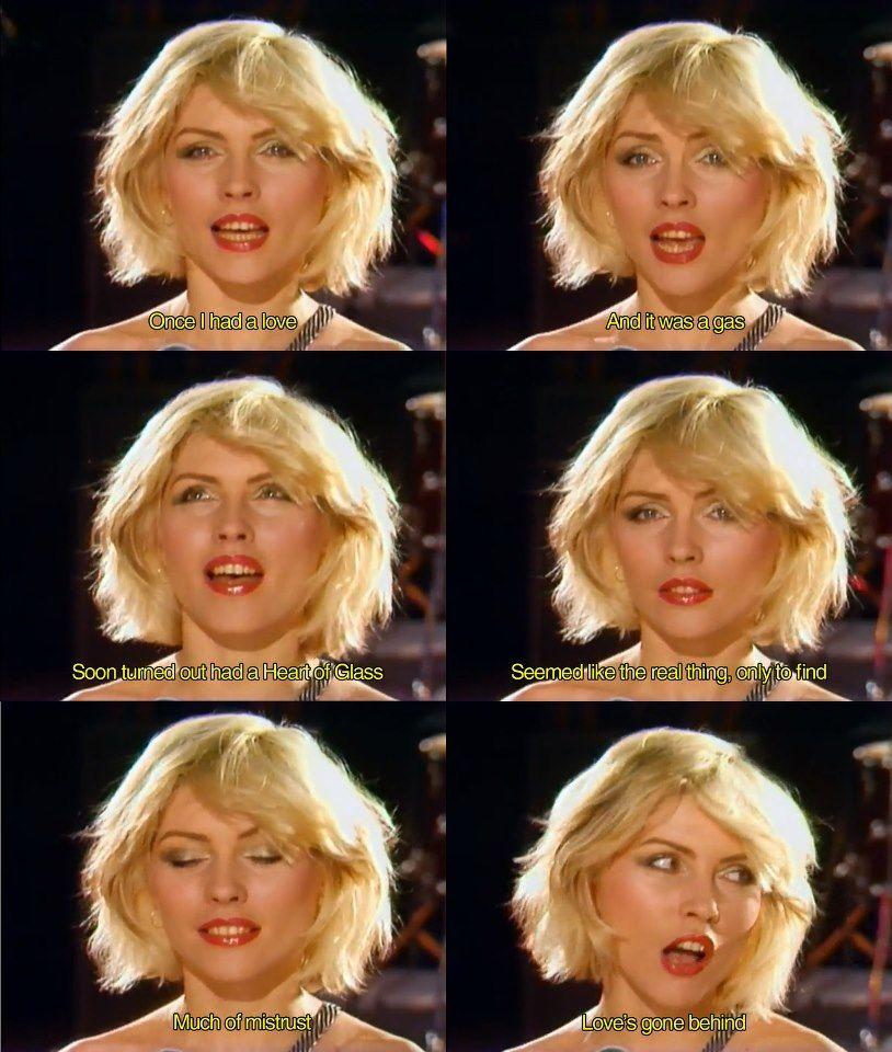 92fe1997d564 Blondie - Heart of Glass