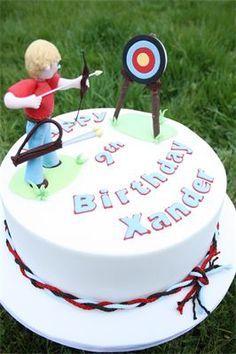 Archery Birthday Cake Ideas Cakepins Com With Images Christmas
