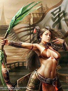 3d богиня секса 240x320