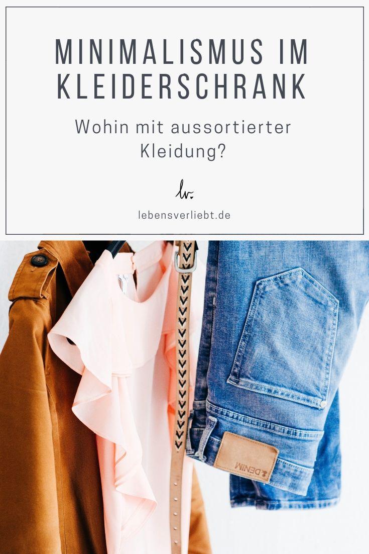 Minimalismus im Kleiderschrank | Minimalismus
