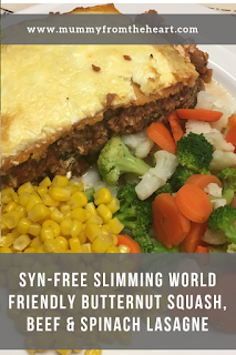 Slimming World Butternut Squash Lasagne – Syn Free